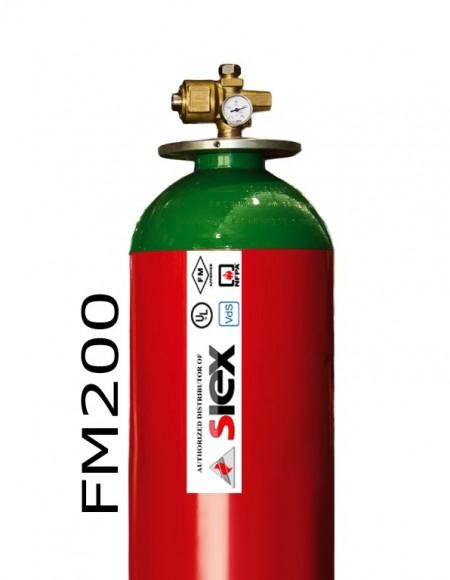 SIEX FM200 - سیلندر گاز اطفا سایکس
